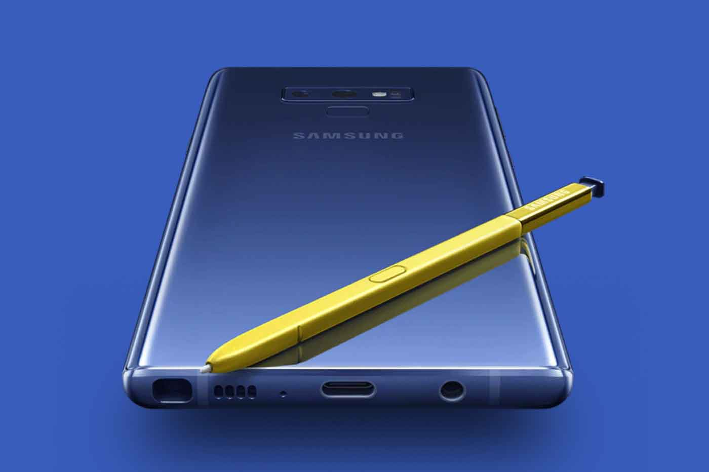 Top 5 Samsung Galaxy Note 9 Caractéristiques